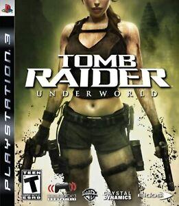 Tomb Raider Underworld For PlayStation 3 PS3 5E