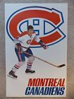 Vintage NHL Montreal Canadiens poster from the 1970s