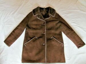 Sheepskin Owen Classic Vintage Coat Leather Retro Barry Leatherclad 14 British rwC7rxqz