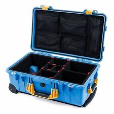 """830 /""""Light/"""" Black Seahorse SE830 Case with Pelican 1510 padded dividers"""