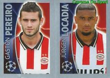 103 GASTON PEREIRO / JURGEN LOCADIA PSV STICKER CHAMPIONS LEAGUE 2016 TOPPS