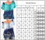 Womens-Floral-V-Neck-Blouse-Summer-Loose-Baggy-Tops-Tunic-T-Shirts-Tee-Plus-Size thumbnail 2