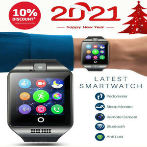 Bluetooth-Smartwatch-Handy-Armbanduhr-Mit-SIM-Slot-Kamera-Fuer-Android-iOS-Neu-DE