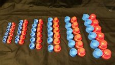 Plastic JIC (A/N) Plug and Cap Kit (72 pieces)