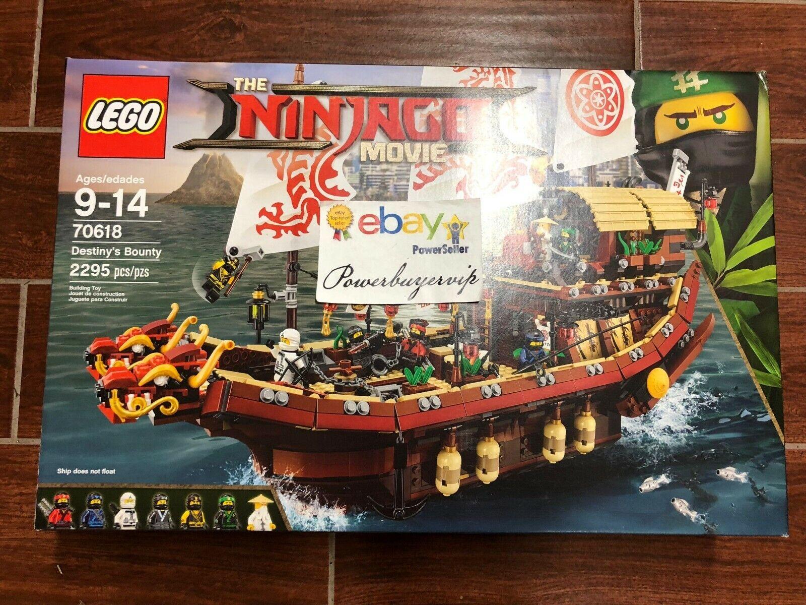 nuovo LEGO 70618 The LEGO Ninjago  Movie Destiny's Bounty 2017 2 Day Get  migliore qualità