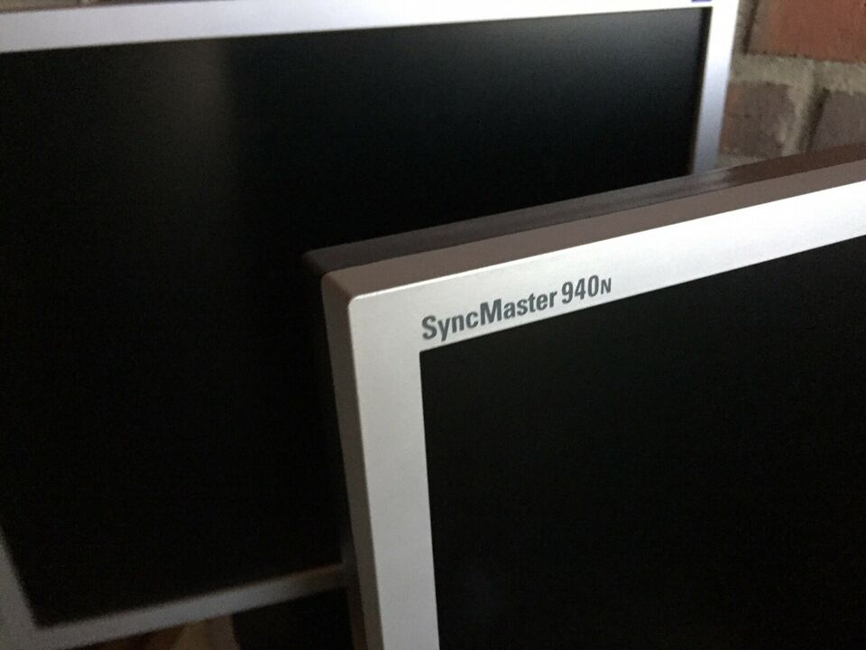 Samsung , fladskærm, SyncMaster. 940n