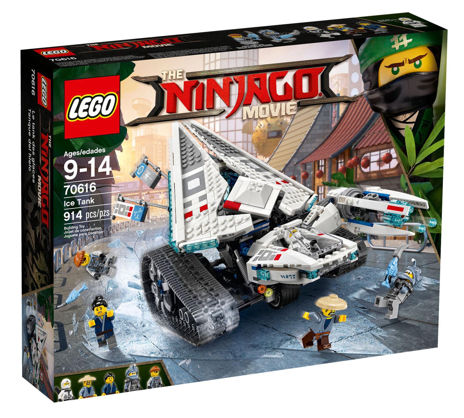 Lego 70616 Ninjago película  Ice tanque  nueva fábrica sellada caja BNISB