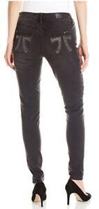 a5dc79a2466 Seven Black Super Soft Stretch Skinny Jean w Double 7 Rhinestone ...