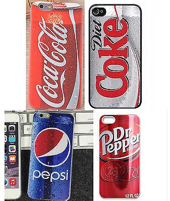 Coca Cola Diet Coke Pepsi Apple iphone 4/ 4S 5/5S 5C 6 6 Plus Back Cover  Case   eBay