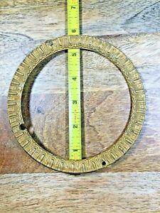 "Old 5 3/4"" Brass Clock Dial Trim Ring   (Clock Dial Lot K1285)"