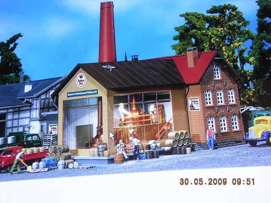 Faller H0 H0 H0 130960 Brauerei mit Sudkessel neu Bausatz - altes Modell  | Vogue  22002b