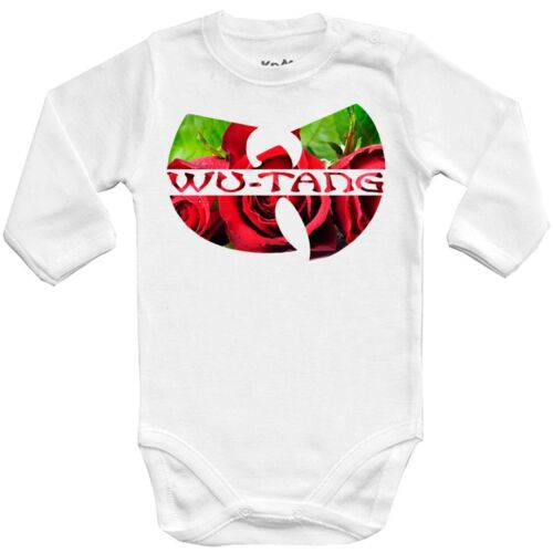ROCK kids girl Baby bodysuit WU TANG CLAN roses 6 One Piece jersey