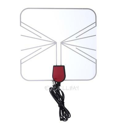 Quality Indoor 75OH High Gain Digital HD TV Antenna Box Flat Design 470-860 MHz