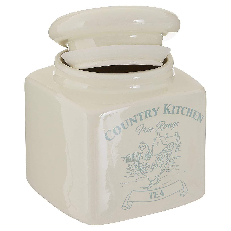 Organizzazione della cucina Country Kitchen Tè Caffè Zucchero ...