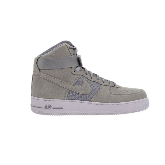 0de9a1a1632 Nike Air Force 1 High 07 Men s Shoes Pure Platinum White Wolf Grey 315121