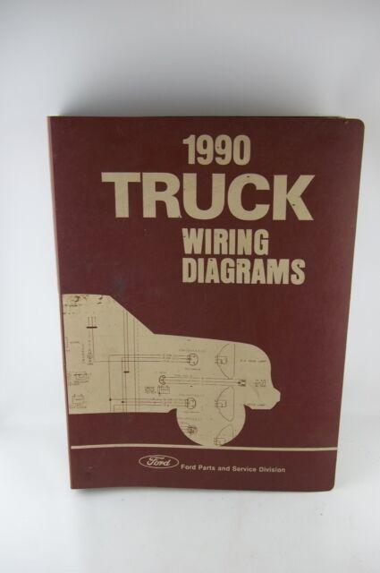 1990 Ford Ranger Bronco Ii Vans Wiring Diagrams Manual
