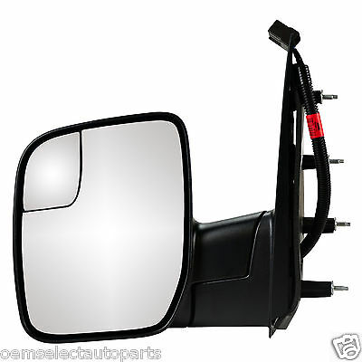 2010-2014 Ford Econoline LH Driver Side Power Mirror OEM NEW AC2Z-17683-AA