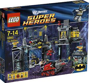 LEGO-Super-Heroes-Batman-Rare-Batcave-6860-New-amp-Sealed
