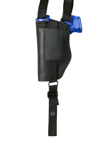 NEW Barsony Vertical Black Leather Shoulder Holster Springfield Comp 9mm 40 45