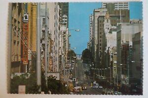 Bourke-Street-Melbourne-Australia-Vintage-Collectable-Postcard