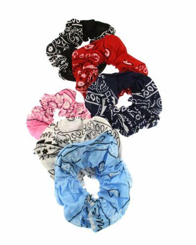Zac/'s Alter Ego® Set of 6 Paisley Print Hair Scrunchies