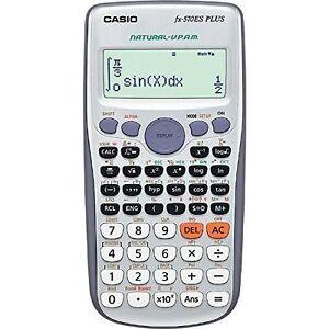 casio fx 570es plus 2 line display scientific matrix vector