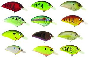 Spro-Little-John-50-Crankbaits-2-1-2-034-Balsawood-Crankbait-Bass-Fishing-Lure
