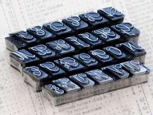 Alphabet-Bleilettern-Vintage-shabby-chic-Stempel-Lettern-Initial-Monogramm-Deko