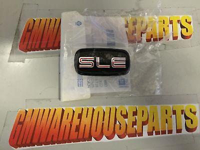 Pair New GMC Suburban Sierra Yokon SLE Emblem 1500 2500 3500 1996 1997 1998 1999