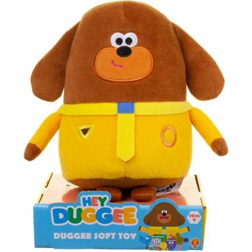 Hey Duggee-Duggee Dog Squirrel Club Leader 20 cm peluche douce peluche toy