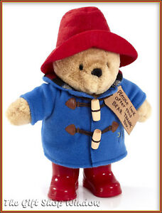 NEW-PADDINGTON-BEAR-PLUSH-SOFT-TOY-WITH-RED-BOOTS-SUPERB-QUALITY-UK-STOCK-QUICK
