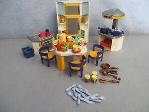 Details zu Küche modern zu 5574 Villa Wohnhaus 4279 Puppenhaus Playmobil  4513