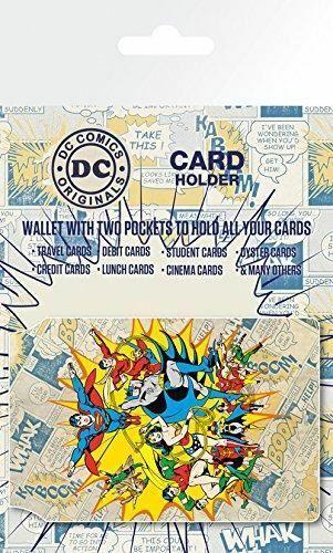 DC Comics Heroes Card Holder Multi-Colour