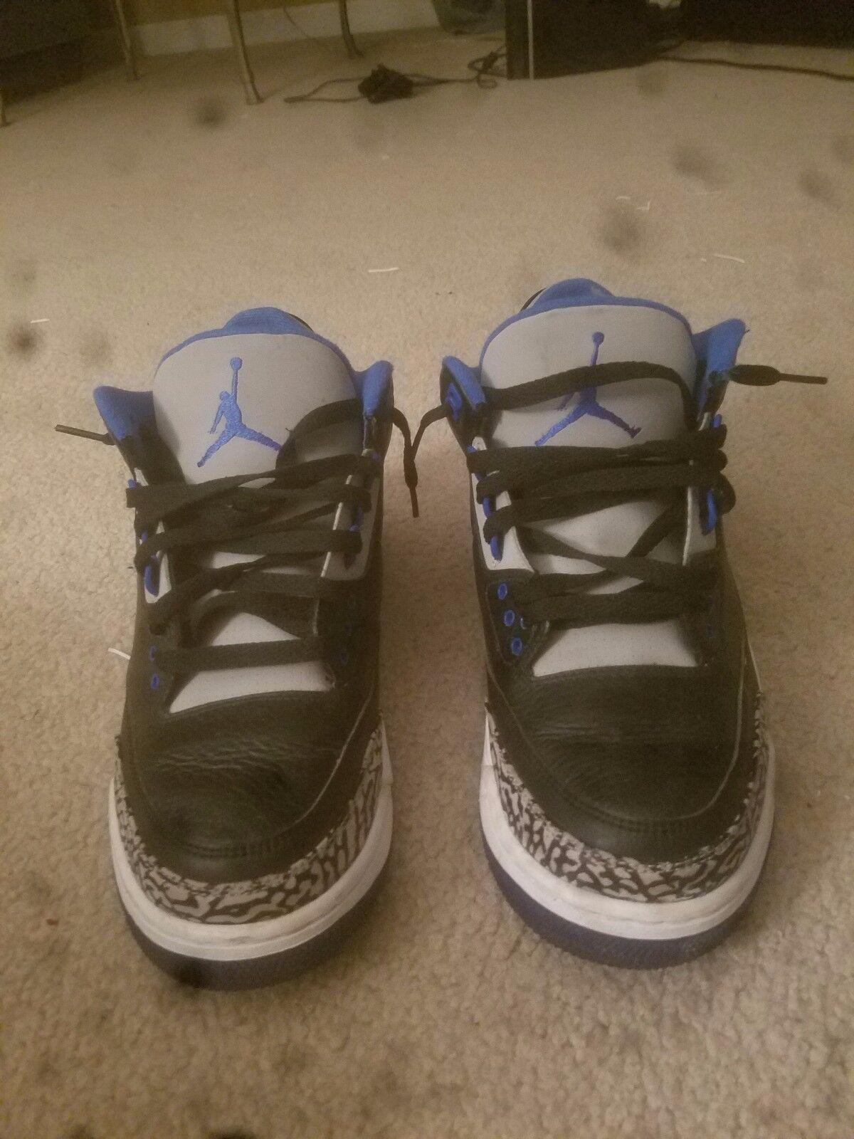 fe8ee5d5a5634 Air Sport bluee Size 9.5 Jordan 3s ntudty6115-Athletic Shoes - mixed ...