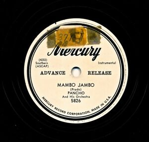 PANCHO-and-his-Orchestra-1952-Mercury-5826-Promo-Mambo-Jambo