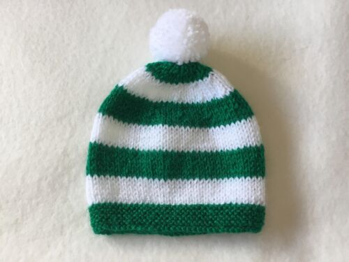 Glasgow Celtic Colours baby/'s team supporter hat Fits 3//6months