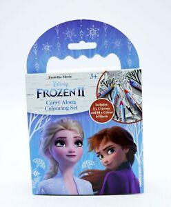 Ninos-Disney-Frozen-llevar-a-lo-largo-de-la-coloracion-Set-Lapices-De-Colores-Arte-para-Ninos