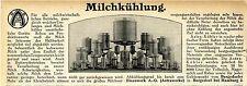 Bergedorfer Eisenwerk A.G. Astrawerke bei Hamburg Milchkühlung Werbung 1912