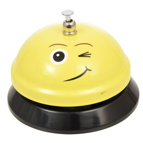 Emoji Ring For Service Call Bell Desk Bar Hotel Counter Reception ~ Winking