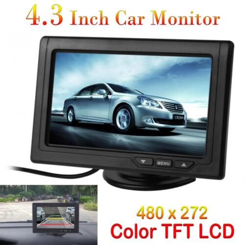 4.3 Inch 480 x 272 Color TFT LCD Screen 2-CH Video Input Car Rear View Monitor