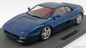 Modellino tm12-19e ferrari f355 berlinetta 1994 blue 1/12