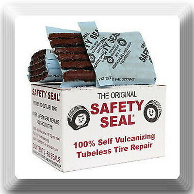 """Safety Seal Tire Plugs tire repair brown 4/"""" Safety Seal *USA Box 60 plugs"""