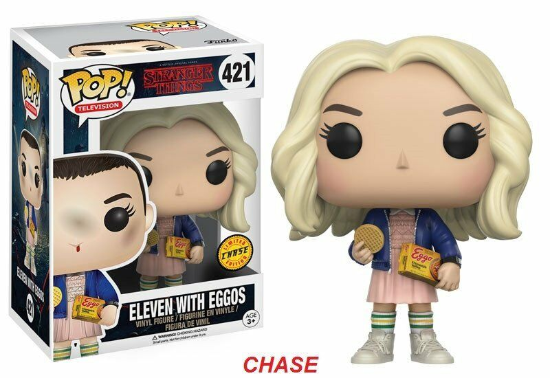 Funko POP  Eleven with Eggos 421 CHASE - Stranger Things - SUBITO DISPONIBILE