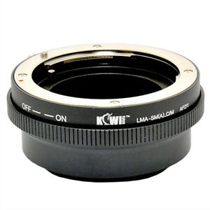 Adapter Mount Ring Sony Alpha/Minolta AF Lens to Camera Canon EOS EF-M 9601121401984