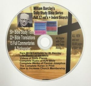 William-Barclay-Daily-Study-Bible-Series-17-Vols-amp-Huge-Mega-Bible-Library-More