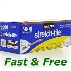 Food Storage Wraps Kirkland Signature Stretch-Tite Plastic Food Wrap