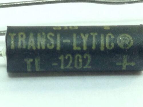 NOS 5 uF//mf  25WVDC  TRANSI-LYTIC TL-1202  SPRAGUE CAPACITOR  NOS 31D 6708HB