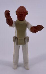 Vintage 1982 Kenner Star Wars Figure Near Complete ROTJ Admiral Akbar Toy HK Boy