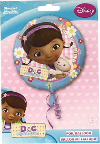 DOC MCSTUFFINS Foil Party Balloon Uninflated Helium Balloon