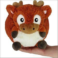 "SQUISHABLE Reindeer 7"" Mini Plush round stuff animal Amazingly NEW in Pkg"